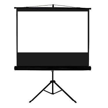 ASHB Audio Visual Tripod Projector Screen