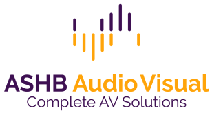 ASHB Audio Visual Website Logo - Contact Us