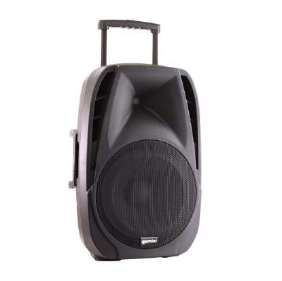 "L 23GM ES 15TOGO 400x399 - Gemini ES-15TOGO Portable PA speaker system (15"" Active battery-powered loudspeaker 